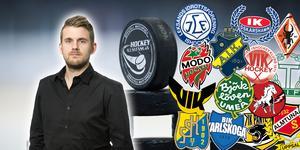 Andreas Hanson om läget i hockeyallsvenskan inför vad som kommer bli en mycket viktig del av säsongen. Foto: Bildbyrån