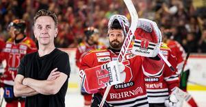 Det går att lyfta allt och alla. Men det finaste är ju hur laget Örebro Hockey faktiskt mal ned stjärnspäckade Färjestad på ett sätt som Karlstad-laget sällan är med om., skriver NA-sportens krönikör Lasse Wirström. Bild: Johan Bernström/Bildbyrån