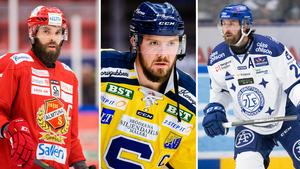 Måltavlor? Per Svensson, Nicklas Grossmann och Mattias Karlsson.