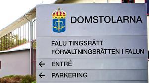 En ung kvinna från Borlänge kommun har åtalats vid Falu tingsrätt misstänkt för skadegörelse, ett brott som ska ha skett i Falun.