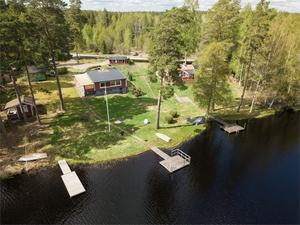 Vacker utsikt över Klövsjön. Foto: Kim Lill