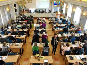 Regionfullmäktige håller tvådagarsmöte i Härnösand onsdag-torsdag.
