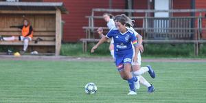 Rimbos lagkapten Anica Krstic missar lördagens match mot Västerås BK 30.