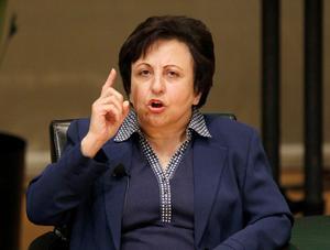 Shirin Ebadi.Bild: Charles Rex Arbogast