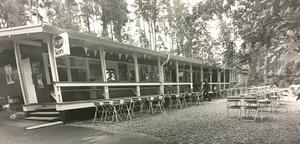 Björnöbadets fik i juli 1971.