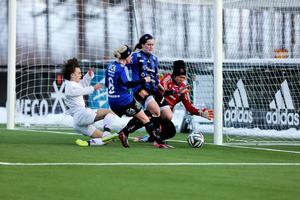 Sukanya Charoenying i kassen för ÖDFF. Foto: Lisa Johansson/Arkiv