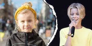 Allie Hällström, 6 år, skolelev, Alnö: