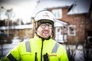 Roger Rådström är platschef på Svevia.