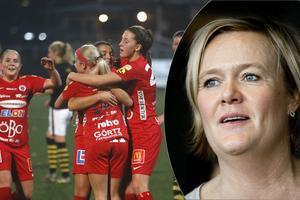 Charlotta Nordenberg är ordförande i Kif Örebro och jobbar för att rädda föreningens ekonomi.