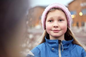 Ylva Littke Sevelin går, precis som sina kompisar, i årskurs tre.