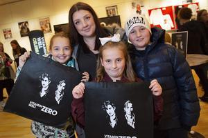 Nicole Kiswani, Camilla Risberg, Leia och Liam Löfgren har sett fram emot konserten en längre tid.
