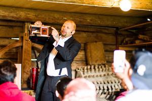 Dagen på Vättaberget började med magi.