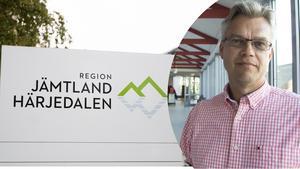 Peter Rönnholm, ekonomidirektör på Region Jämtland Härjedalen.