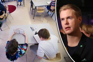 Gustav Fridolin och Angel Villaverde skriver om ojämlikheten i skolan. Bild: Fredrik Sandberg/TT