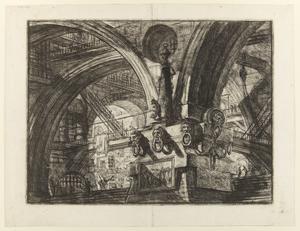 Femtonde gravyren i Giovanni Battista Piranesis serie