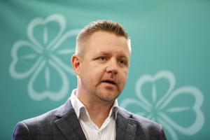 EU-parlamentarikerna Fredrick Federley är Centerpartiets toppnamn.Foto Christine Olsson / TT
