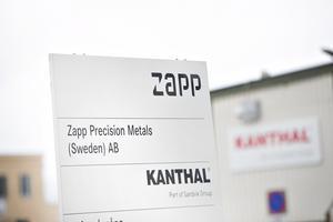 Under det senaste året har Zapp och Kanthal delat på lokalerna i Sandviken.