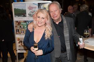 Linda Kumlin med pappa Göran Kumlin