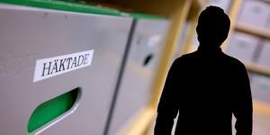 En man i 30-årsåldern misstänks ha hotat en man i Malung. Foto: Johan Nilsson/TT