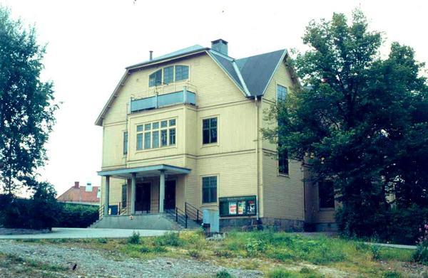 Sveasalongen i Västanfors. Byggnaden som den såg ut kring 1980. Bild: FP:s arkiv