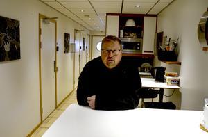 Fredrik Nordlander har drivit sitt vandrarhem Sleep In i många år. Totalt finns fyra rum i fastigheten.