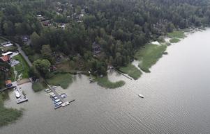 Strandnära bebyggelse vid sjön Mälaren. Foto: Fredrik Sandberg/TT