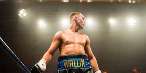 Otto Wallin från boxningsgalan i Sundsvall 2017, Fotograf: Viktor Sjödin