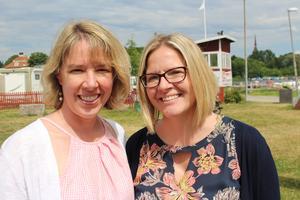Systrarna Genella McDonald och Elizabeth Barton.