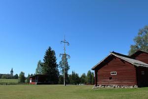 Strax norr om Svärdsjö är gammelgården belägen.