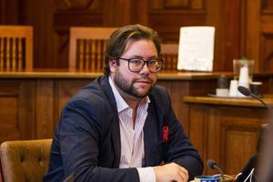 Joel Nordkvist (M), ordförande i barn- och utbildningsnämnden.