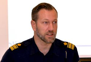 Hans Björner, lokalpolisområdeschef i Ångermanland.
