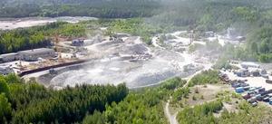 Röfors är tänkt att få en avfallshanteringsanläggning. Bild från liknande anläggning i Botkyrka. FOTO: Privat