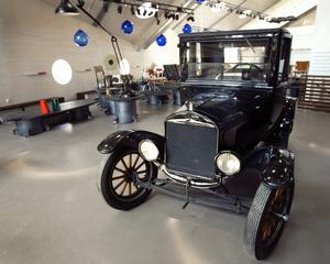 Såld. Denna T-Ford ingår inte längre i stiftelsen Formens hus samlingar.