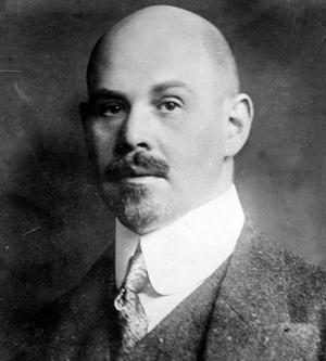 Den tysk-judiske utrikesministern Walther Rathenau mördades 1922.