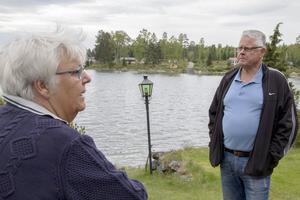 Agneta och Olle Ehn vill kunna nyttja sin stuga så mycket som möjligt nu när de är pensionärer.
