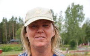 Birgitta Kurkkio Rothleder Hyttornas Hästgård i Skenshyttan.FOTO: KERSTIN ERIKSSON