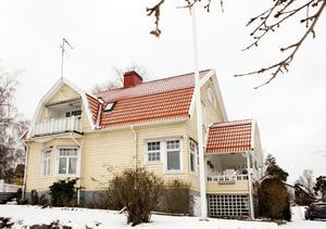 Stallhagen. Troligen byggdes Villa Ekeby av en Aseadirektör.
