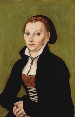 Katharina von Bora, Martin Luthers hustru.