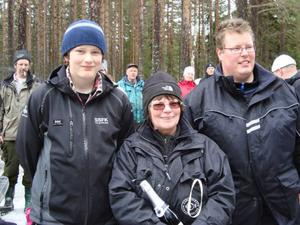 Lars Hansson, Gun-Britt Tigerstrand och Magnus Hallberg hade mest lycka med sig. Foto: Håkan Degselius
