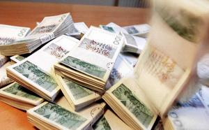 Över 20 miljoner kronor fattas i bokföringen.