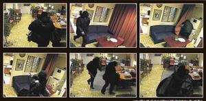 Bilder från Handelsbankens övervakningskamera.