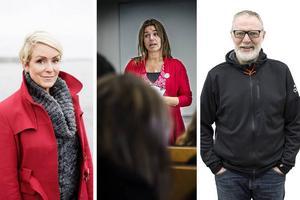 Entreprenören och komikern Karin Adelsköld, politikern AnnaCaren Sätherberg (S) och Stefan Nolervik - krönikör, skribent och bloggare på ÖP, har alla uttalat sig på sociala medier efter polisens presskonferens.