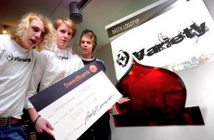 Företagsintresset och uppfinnarandan fick Joakim Sjöblom som UF-företagare 2008 tillsammans med Mattias Augustsson och Niclas Danco.