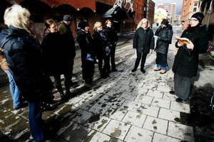 """""""Den dolda staden"""" bjuder på en en annorlunda stadsvandring genom Östersund. Foto: Henrik Flygare"""