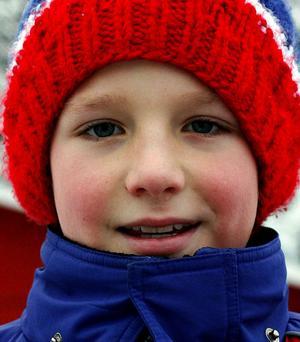 – Henrik Zetterberg. Han dribblar så bra.Lukas Meski, 9 år, Nolby.