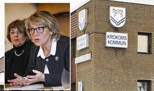 Maria Söderberg (C) är kommunstyrelsens ordförande i Krokom.