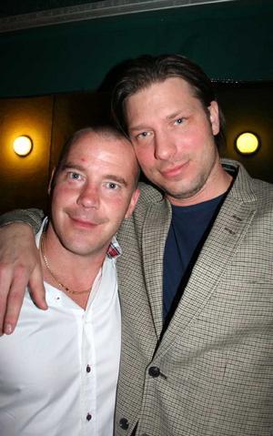 Blue Moon Bar. Benny och Jeppe