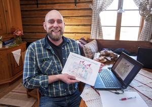 Snart stundar både julen och Täpp Lars Arnessons andra sagobok för i år, Välkommen hem – en julsaga.