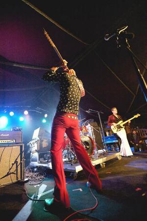 I början av september spelade Ducks Can Groove på norska Hell-festivalen.Foto: Erling Skjervold/Blues in Hell