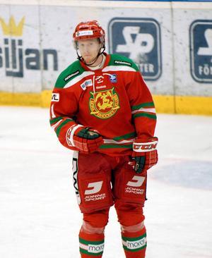 Christopher Fish kom som ett lån från Linköping i vintras. Kommande säsong tillhör han Mora.